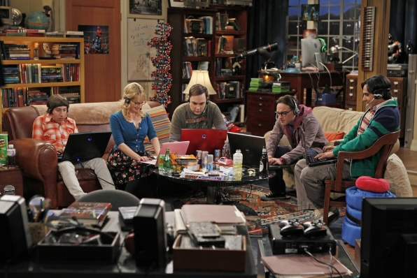 Big Bang Theory on CBS