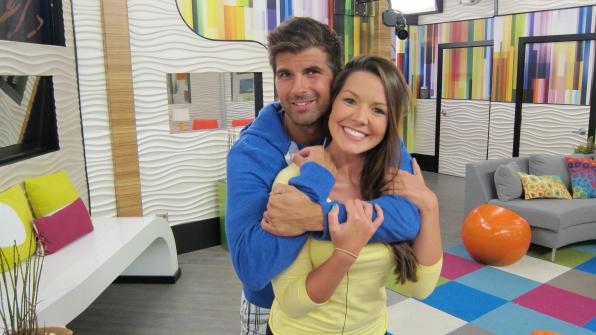 Danielle en Shane Big Brother dating